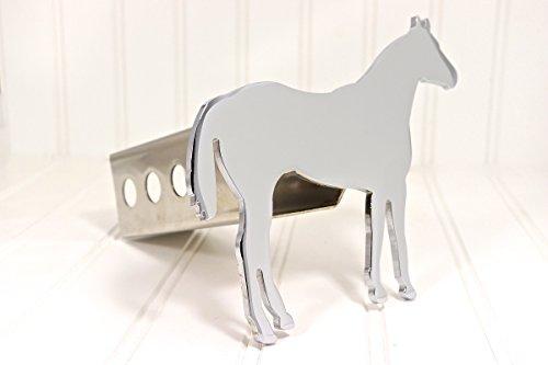 Custom Hitch Covers 12661-Chrome Quarter Horse Hitch Cover, (Horse Hitch Cover)