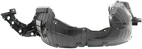 Koolzap For 16-18 Altima Front Splash Shield Inner Fender Liner Panel Plastic Left Side