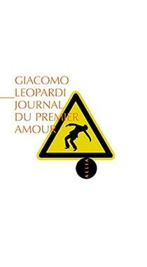 Journal du premier amour par Leopardi