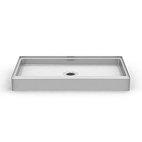 54 Inch Shower Pan.54 X 30 Left Drain Curbed Shower Pan Shower Base