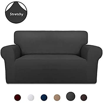 Amazon.com: AUJOY Stretch Sofa Cover Water-Repellent Couch ...