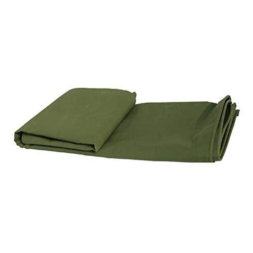 傾いた治安判事戻すCHAOXIANG ターポリン サンシェード 厚い リノリウム 耐摩耗性 シェード キャンバス 厚さ0.60mm、 17サイズ、 カスタマイズ可能な (色 : アーミーグリーン, サイズ さいず : 4.8X4.8m)