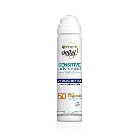 Garnier Delial Crema solar Sensitive Advanced Bruma Facial Hidratante IP50+ - 75 ml