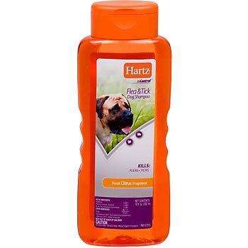 Hartz InControl Flea and Tick Shampoo for Dogs, Citrus - 18