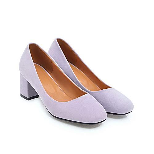 5 36 Compensées Inconnu Sandales Violet 1TO9 Violet Femme MMS06124 Kyg1T