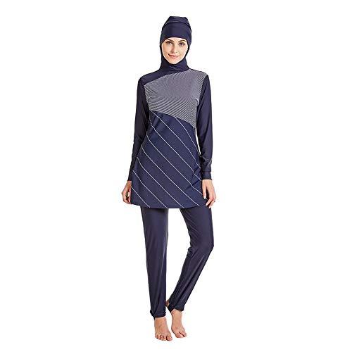 Spiaggia colore Dimensione Mostrato L Bagno Blue Serie Del Islamico Costume Come Donna Unica Taglia Oudan Islamica Presidente Royal Mostrato Conservatore Da fF6T0q