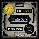 Water Polo Antique Cardstock Scrapbook Stickers - Stocks Polo
