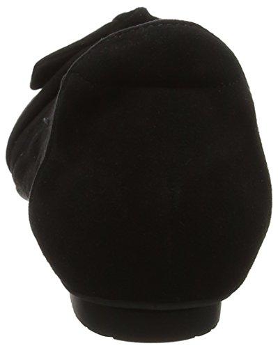Denken! Dames Balla_282163 Flat Zwarte Gesloten (black 00)