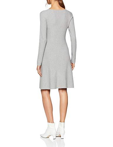 Damen Kleid Silber Silver BOSS Iesibedda 045 PC1nw1qH