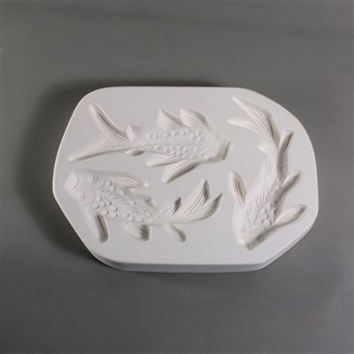 Fusing and Slumping Glass Supplies - Koi Frit Casting Mold]()