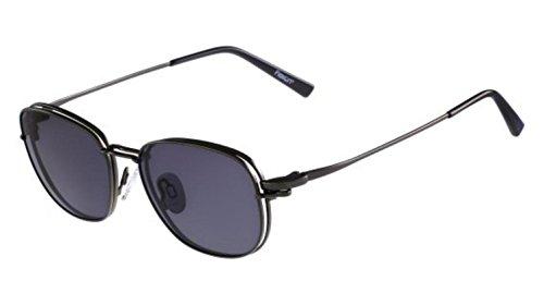 FLEXON Eyeglasses FLX902 MAG-SET 033 Gunmetal 52MM ()