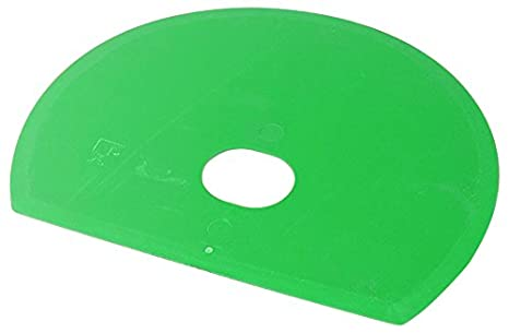 Maya 71915 - Espátula Flexible Redonda, Metal Detectable y Rayos X, con Agujero, 160 x 125 x 1,65 mm, Verde: Amazon.es: Industria, empresas y ciencia