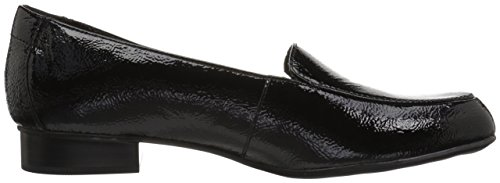 Women's Lora Loafer Juliet Black Leather Patent CLARKS Zwx1dq01