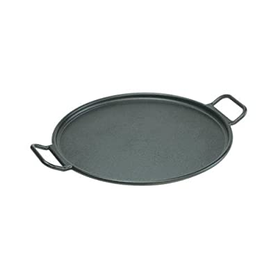 Lodge Mfg P14P3 Cast-Iron Pizza/Bake Pan, Pre-Seasoned, 14-In. Diam.