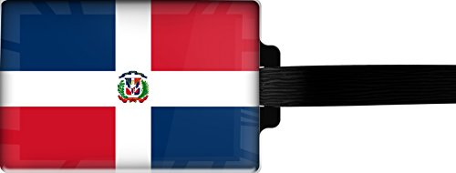 Dominican Republic Models (metALUm Luggage tag / Model Marco Polo / Flag Dominican Republic / 3001018)