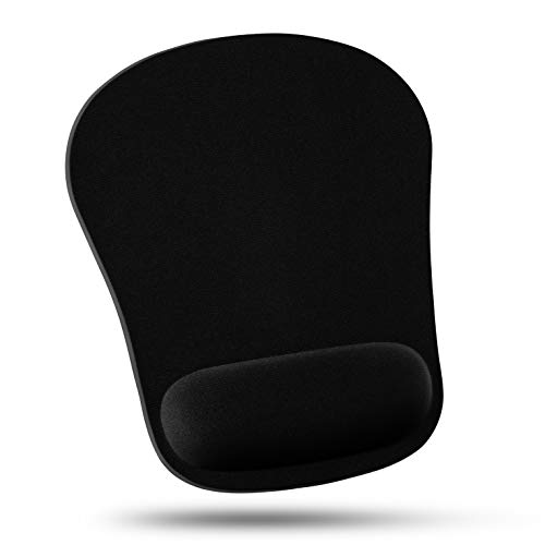 Quality Selection Comfortable Wrist Rest Mouse Pad (Black) ()