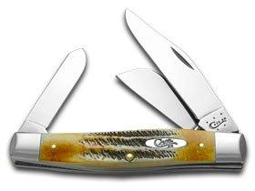 Blade Knife Muskrat 2 Pocket - Case Large Bonestag Stockman Pocket Knife