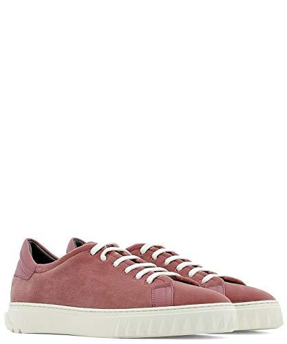 707099 Donna Salvatore Velluto Sneakers Rosso Ferragamo t8SRwqSZx