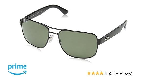 a99ba96e476 Amazon.com  Ray-Ban Men s 0RB3530 Square Polarized Sunglasses  Ray-Ban   Clothing