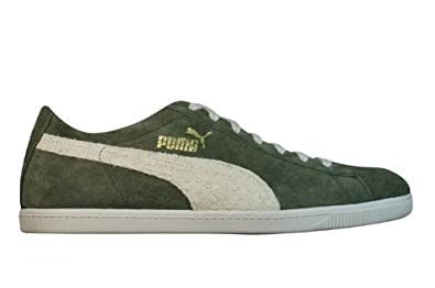 Puma Glyde Low Vintage Mens Leather Suede Trainers Shoes – Green Size  8 UK 5598e03c3
