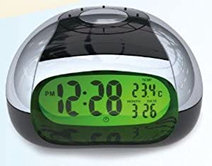 Talking Big Button Clock with Alarm and Temperature