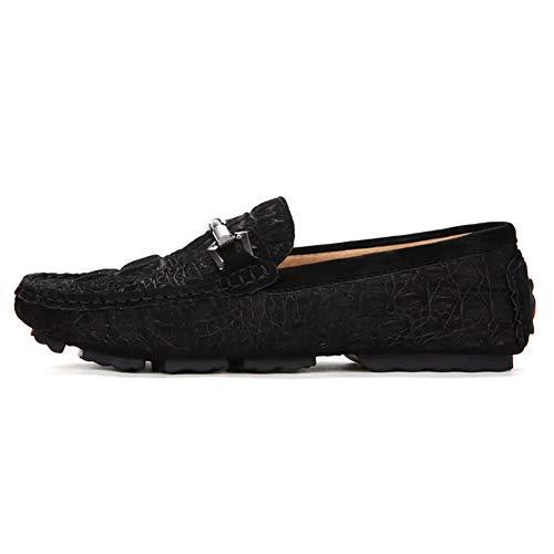 40 Conduite Pour Plats Occasionnels Tout Et black Mocassins Légère Yuan Hommes aller one Robe Antidérapante Slip Chaussures Chaussure De Confortables Souples wTFRSqI