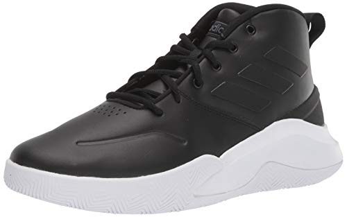 adidas Men's Own The Game Basketball Shoe, Black/Black/Night Metallic, 13 M US
