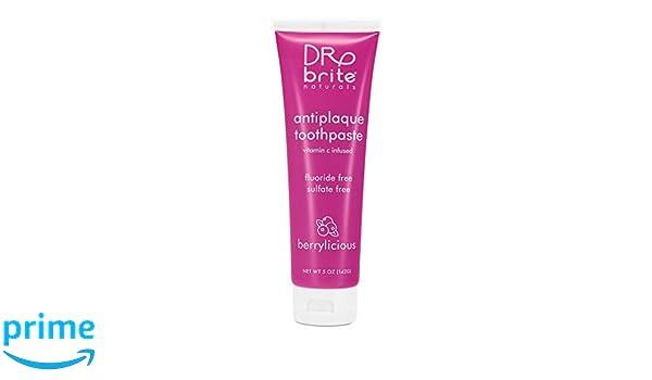 Dr. Brite Pasta de dientes mineral para niños Strawberry Sky, 4.2 ...