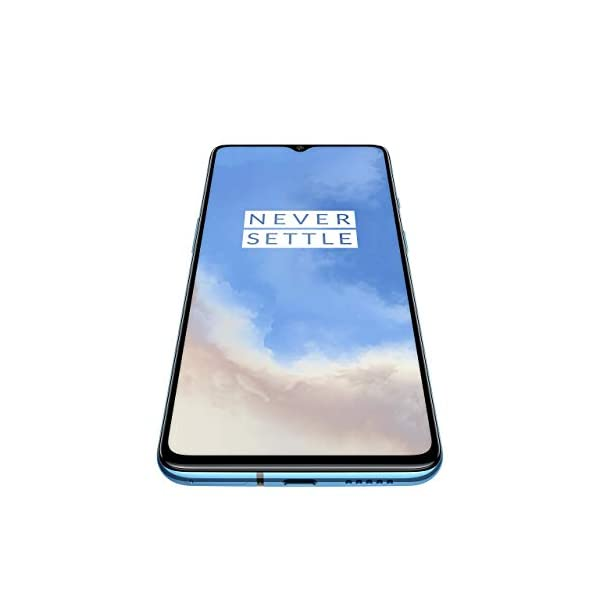 (Renewed) OnePlus 7T (Glacier Blue, 8GB RAM, Fluid AMOLED Display, 256GB Storage, 3800mAH Battery)