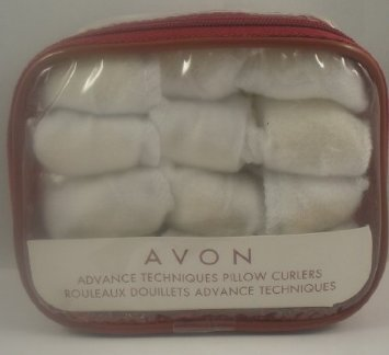 Avon Advance Techniques Pillow Curlers Rollers Avon Soft Curlers