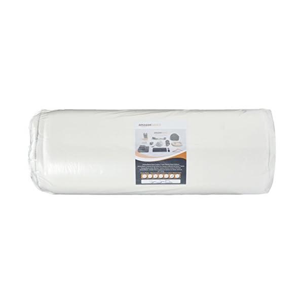AmazonBasics - Materasso extra comfort a 7 zone in memory foam, Medio (H3) - 80 x 190 cm 6 spesavip