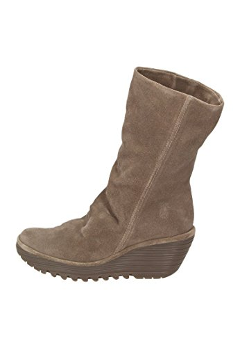 FLY LONDON Yara oil suede, Farbe:taupe;Groesse:38