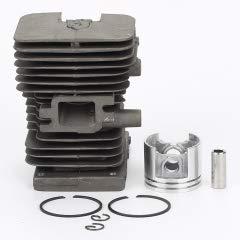 Prime su Cilindro pistone Kit per Stihl MS180 Motosega 018 38 mm Anelli Clip Pin Rebuild Prime On