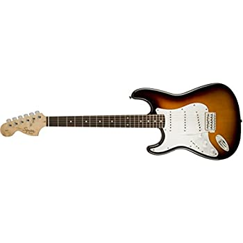 squier by fender affinity stratocaster beginner electric guitar left handed. Black Bedroom Furniture Sets. Home Design Ideas