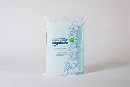 Esponja jabonosa un Solo Uso BB1 100g/m2 12x20cm .10pack de 24u (240u
