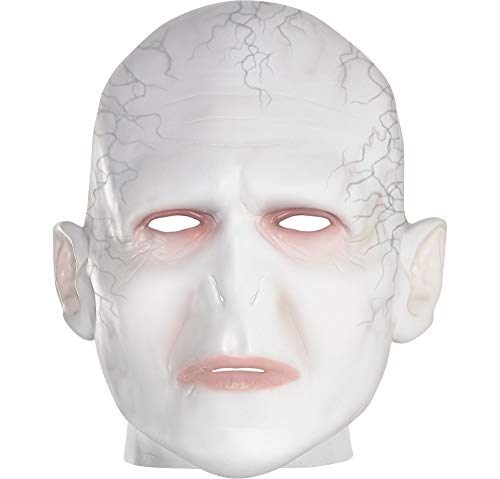 Suit Yourself Voldemort Mask for Adults, Harry Potter, Halloween Costume Accessory, One Size, Latex]()