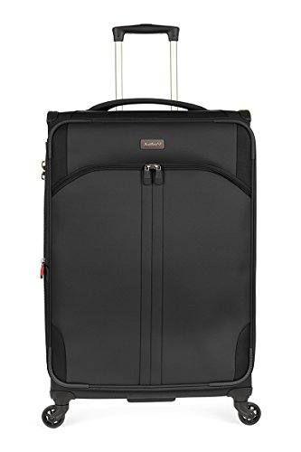 Antler Aire Dlx Softside Black 27'' Expandable, Color: Black, Size: Medium by Antler