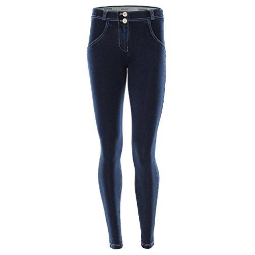 Freddy WR.UP Femme Skinny Jeans Taille Classique Denim Bleu XS