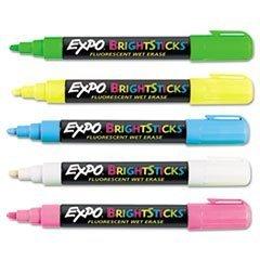 Sanford Wet Erase Fluorescent Markers Assorted