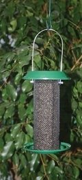 Magnum Thistle Bird Feeder - 1 Pt., Hunter Green Plastic Tops and Bottoms ()
