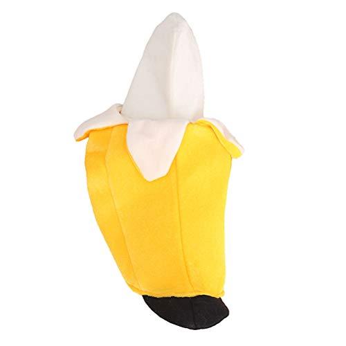 POPETPOP Banana Dog Costume Banana Pet Clothes for