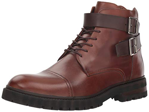 Donald J Pliner Men's CAILAN-A4 Combat Boot Cognac for sale  Delivered anywhere in USA