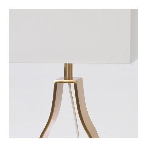 Ikea Klabb Table Lamp off white brass Color 903.652.60
