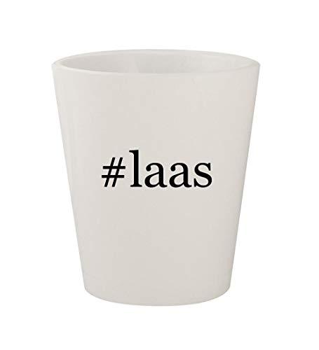 #laas - Ceramic White Hashtag 1.5oz Shot Glass ()