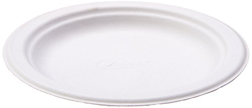Chinet 21225 Heavy Duty Plates, Paper, 6'' Size, White by Chinet