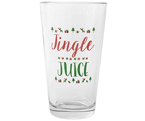 Christmas Jingle Juice Pint Glass - The Perfect Stocking Stuffer