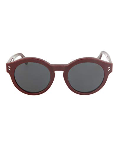 Stella McCartney Women's SC0038O Red/Red/Transparent One Size (Stella Mccartney Sonnenbrille)
