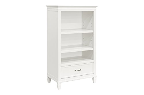 Million Dollar Baby Darlington Bookcase, Warm White ()