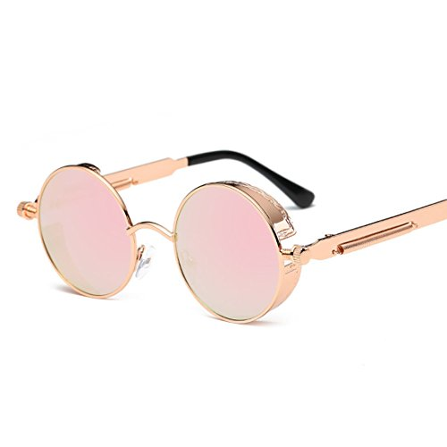 Contre en Royalmal Care Steampunk Lunettes Cadre Style Poitrine Les Alloy 6 Zinc Rond métal UV la Protection Soleil Eye Polarized Sunglasses de et RtnR7rwSq