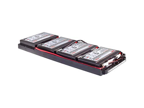 APC RBC34 batería de sustitución para UPS, compatible con los modelos SUA750RMI1U / SUA10000RMI1U y otros